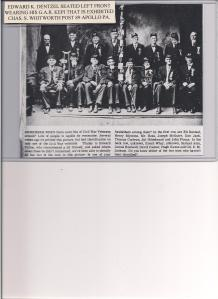 Henry Blystone is second from left.  (Front row)