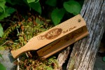 """One of my personalized """"Ferocious"""" Box Calls by Kip."""