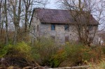 The old grist mill along Fishing Creek.