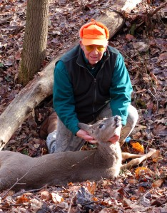 Bob and his deer.