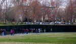 Vietnam Memorial Wall.
