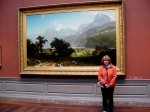 Check out the size of this painting!