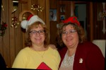 My sister, Ruthie with Laurie.