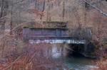 Bridge where old US 422 was.